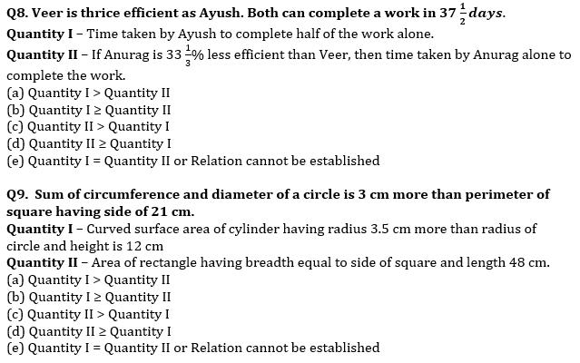 Quantitative Aptitude Quiz For SBI Clerk Mains Exam 2021- 18th August_70.1