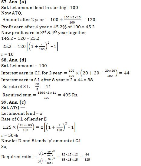 Quantitative Aptitude Quiz For SBI Clerk Mains Exam 2021- 21st August_100.1
