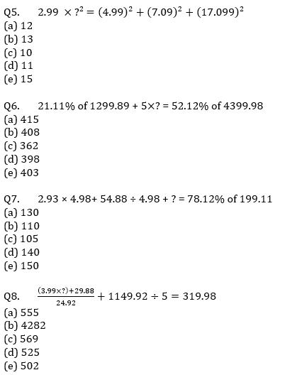 Quantitative Aptitude Quiz For IBPS Clerk/NIACL AO Prelims 2021- 26th August_50.1