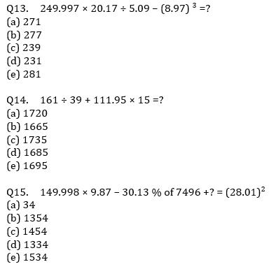 Quantitative Aptitude Quiz For IBPS Clerk/NIACL AO Prelims 2021- 26th August_70.1