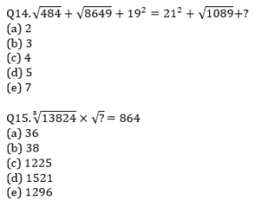 Quantitative Aptitude Quiz For IBPS Clerk/NIACL AO Prelims 2021- 30th August_70.1