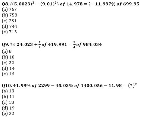 Quantitative Aptitude Quiz For IBPS Clerk/NIACL AO Prelims 2021- 2nd September_70.1
