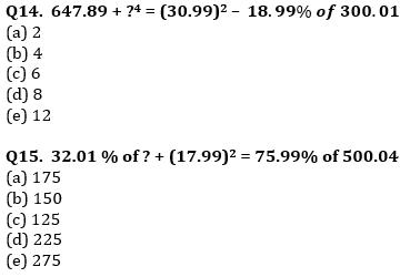 Quantitative Aptitude Quiz For IBPS Clerk/NIACL AO Prelims 2021- 2nd September_90.1