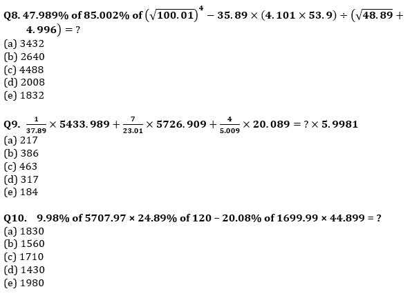 Quantitative Aptitude Quiz For RRB PO Mains 2021- 3rd September_80.1