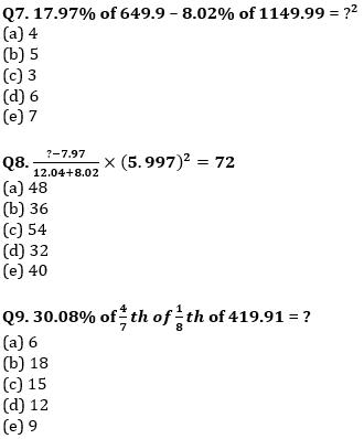 Quantitative Aptitude Quiz For IBPS Clerk/NIACL AO Prelims 2021- 4th September_70.1