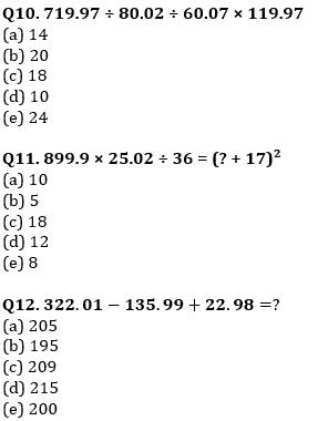 Quantitative Aptitude Quiz For IBPS Clerk/NIACL AO Prelims 2021- 4th September_80.1