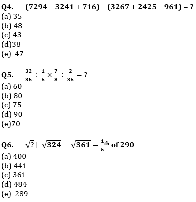 Quantitative Aptitude Quiz For IBPS Clerk/NIACL AO Prelims 2021- 6th September_70.1
