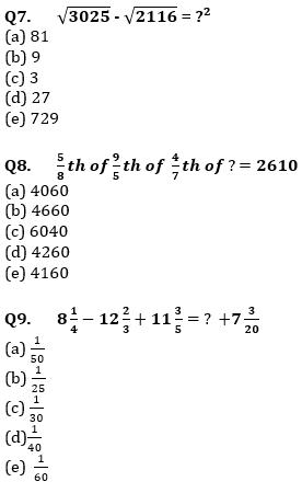 Quantitative Aptitude Quiz For IBPS Clerk/NIACL AO Prelims 2021- 6th September_80.1
