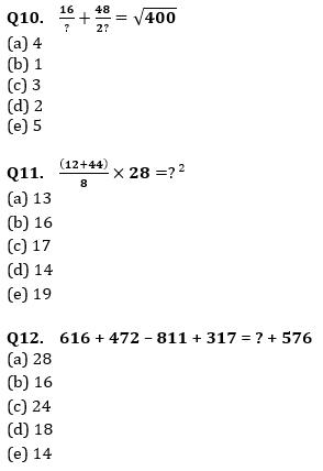 Quantitative Aptitude Quiz For IBPS Clerk/NIACL AO Prelims 2021- 6th September_90.1