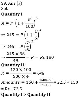 Quantitative Aptitude Quiz For IBPS Clerk/NIACL AO Prelims 2021- 9th September_120.1