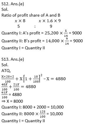 Quantitative Aptitude Quiz For IBPS Clerk/NIACL AO Prelims 2021- 9th September_140.1