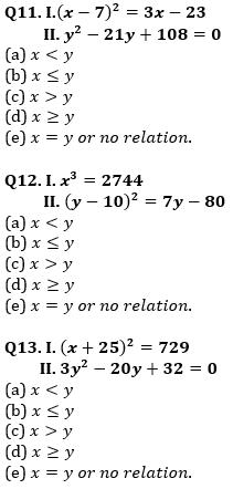 Quantitative Aptitude Quiz For IBPS Clerk/NIACL AO Prelims 2021- 13th September_70.1