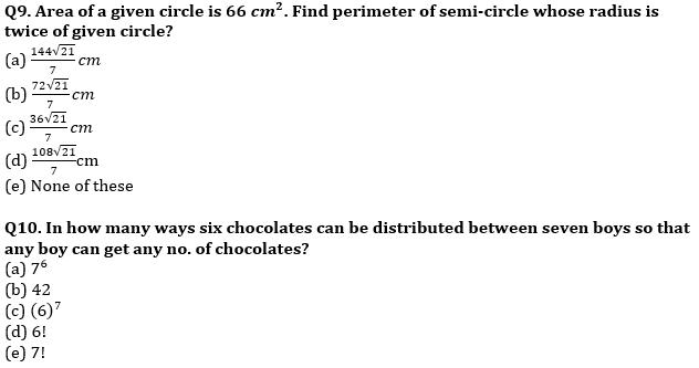 Quantitative Aptitude Quiz For IBPS Clerk/NIACL AO Prelims 2021- 16th September_70.1