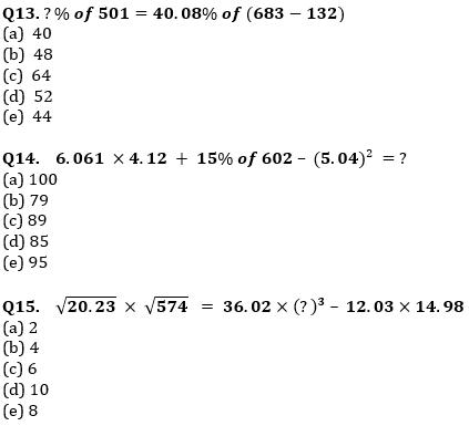 Quantitative Aptitude Quiz For IBPS Clerk/NIACL AO Prelims 2021- 17th September_80.1