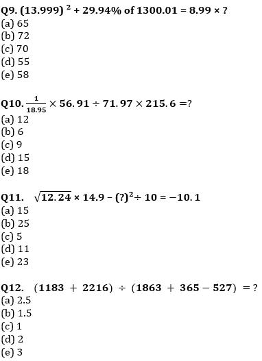 Quantitative Aptitude Quiz For IBPS Clerk/NIACL AO Prelims 2021- 17th September_70.1