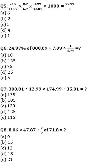 Quantitative Aptitude Quiz For IBPS Clerk/NIACL AO Prelims 2021- 17th September_60.1