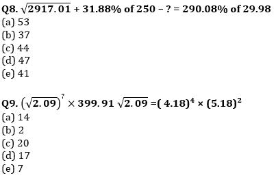 Quantitative Aptitude Quiz For IBPS Clerk/NIACL AO Prelims 2021- 19th September_70.1