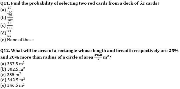 Quantitative Aptitude Quiz For IBPS Clerk/NIACL AO Prelims 2021- 22nd September_60.1