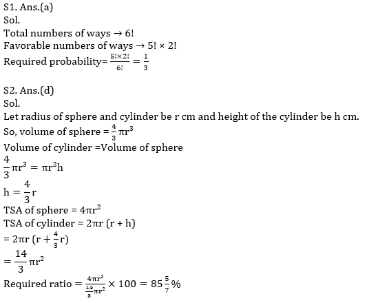 Quantitative Aptitude Quiz For IBPS Clerk/NIACL AO Prelims 2021- 26th September_100.1