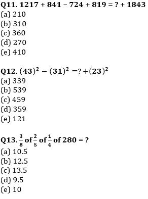 Quantitative Aptitude Quiz For IBPS Clerk/NIACL AO Prelims 2021- 26th September_80.1