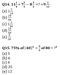 Quantitative Aptitude Quiz For IBPS Clerk/NIACL AO Prelims 2021- 26th September_90.1