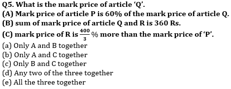 Quantitative Aptitude Quiz For SBI Clerk/IBPS RRB Clerk Mains 2021- 28th September_50.1