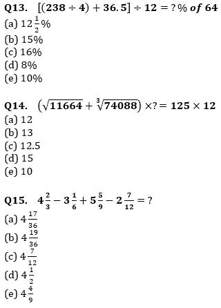 Quantitative Aptitude Quiz For IBPS Clerk/NIACL AO Prelims 2021- 29th September_80.1
