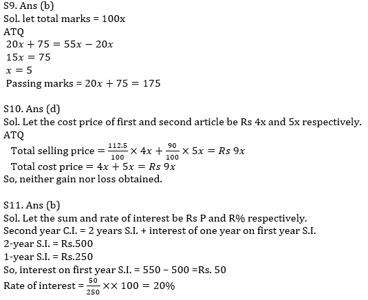 Quantitative Aptitude Quiz For IBPS Clerk/NIACL AO Prelims 2021- 1st October_80.1