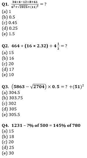 Quantitative Aptitude Quiz For IBPS Clerk/NIACL AO Prelims 2021- 4th October_60.1
