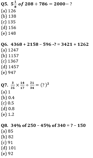 Quantitative Aptitude Quiz For IBPS Clerk/NIACL AO Prelims 2021- 4th October_70.1