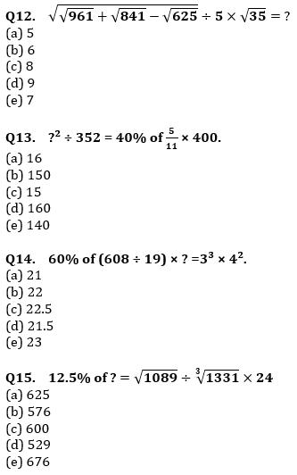 Quantitative Aptitude Quiz For IBPS Clerk/NIACL AO Prelims 2021- 5th October_90.1