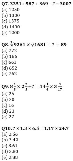 Quantitative Aptitude Quiz For SBI/IBPS PO Prelims 2021- 6th October_80.1