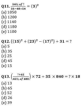 Quantitative Aptitude Quiz For SBI/IBPS PO Prelims 2021- 6th October_90.1