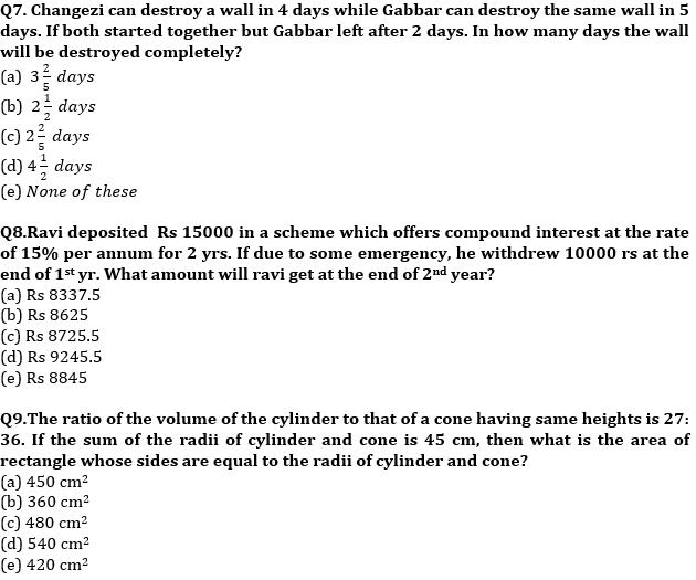Quantitative Aptitude Quiz For IBPS Clerk Prelims 2021- 7th October_70.1