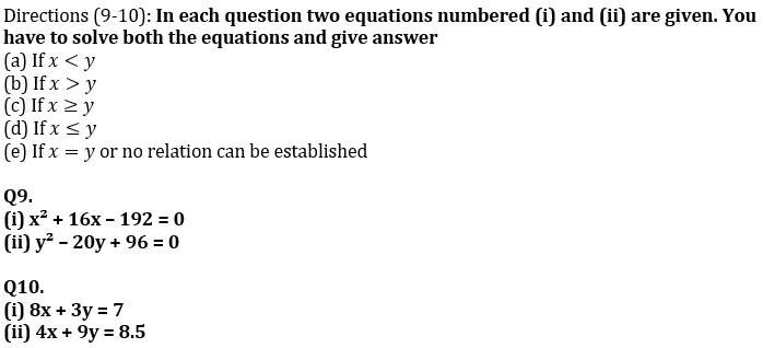Quantitative Aptitude Quiz For SBI Clerk/IBPS RRB Clerk Mains 2021- 8th October_80.1