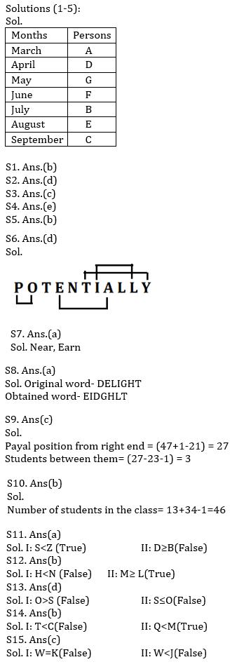 Reasoning Ability Quiz For IBPS Clerk Prelims 2021- 09th October_50.1