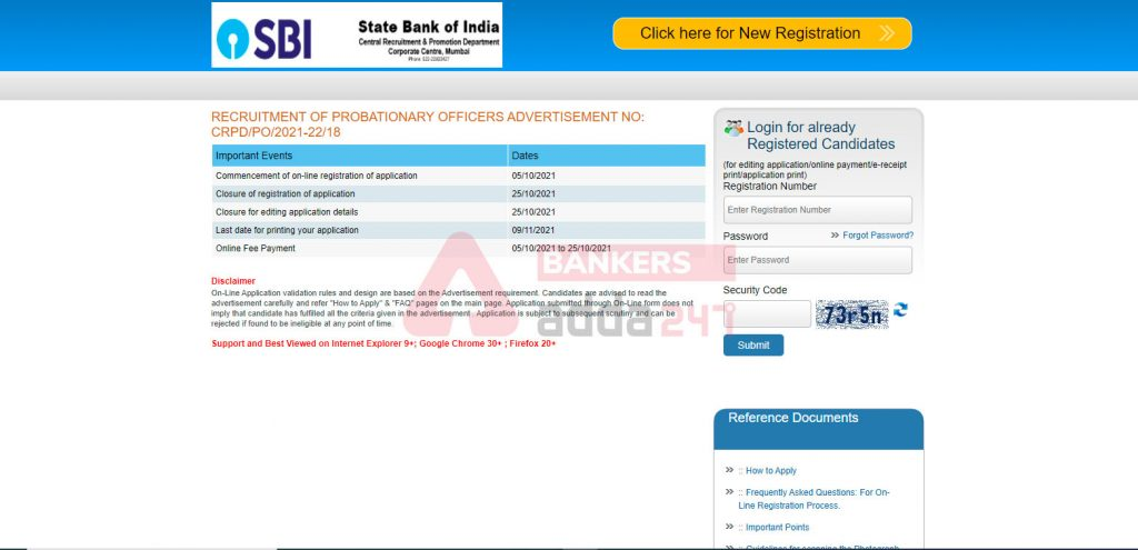 SBI PO Apply Online 2021: Online Application for 2056 Posts_50.1