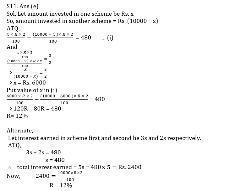 Quantitative Aptitude Quiz For SBI/IBPS PO Prelims 2021- 10th October_110.1