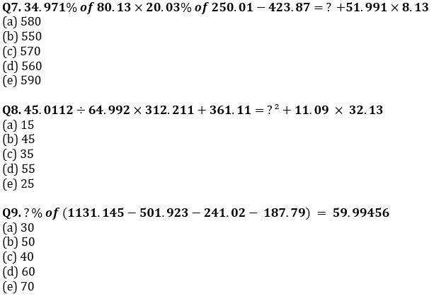 Quantitative Aptitude Quiz For SBI/IBPS PO Prelims 2021- 11th October_80.1