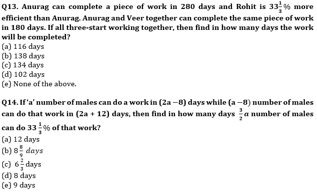 Quantitative Aptitude Quiz For SBI/IBPS PO Prelims 2021- 14th October_80.1