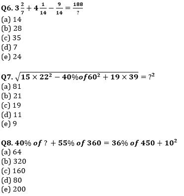 Quantitative Aptitude Quiz For SBI Clerk/IBPS RRB Clerk Mains 2021- 14th October_70.1
