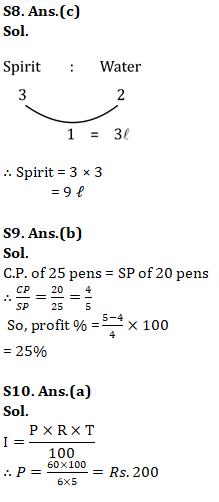 Mathematics Quiz For RRB NTPC : 9th January 2020_100.1