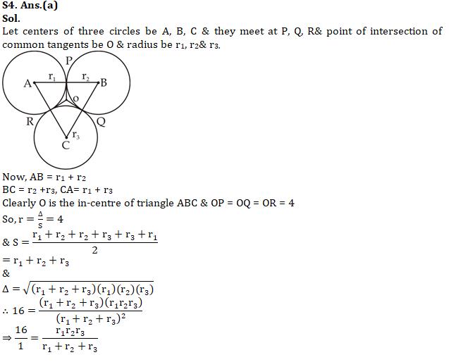 Quantitative Aptitude [Advanced Level] For SSC CGL : 11th January 2020 for Geometry, Trigonometry and Algebra_130.1