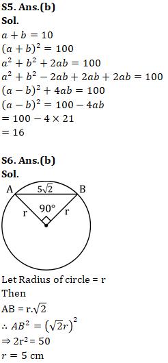 Mathematics Quiz For RRB NTPC : 11th January 2020_100.1