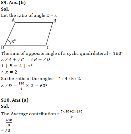 Mathematics Quiz For RRB NTPC : 11th January 2020_120.1