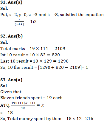 Quantitative Aptitude For SSC CGL,CHSL : 24th January 2020 for Average, Percentage and Profit & Loss_50.1