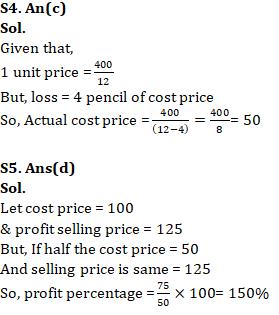 Quantitative Aptitude For SSC CGL,CHSL : 24th January 2020 for Average, Percentage and Profit & Loss_60.1