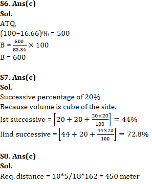 Quantitative Aptitude For SSC CGL,CHSL : 24th January 2020 for Average, Percentage and Profit & Loss_70.1