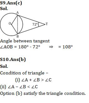 Mathematics Quiz For RRB NTPC : 24th January 2020   Geometry , Algebra And Profit & Loss_110.1