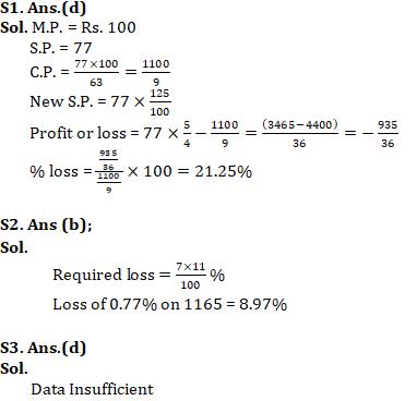 Quantitative Aptitude For SSC CGL,CHSL : 29th January 2020 for Profit & loss_70.1